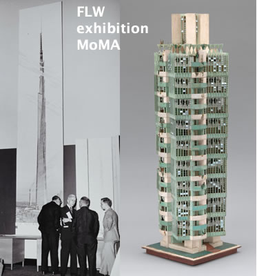 moma FLW exhibitions pics