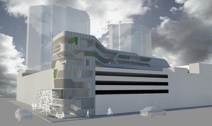 Multi purpose buildings. C11 Rebecca Donoghue