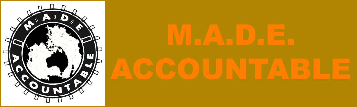 M.A.D.E. accountable logo