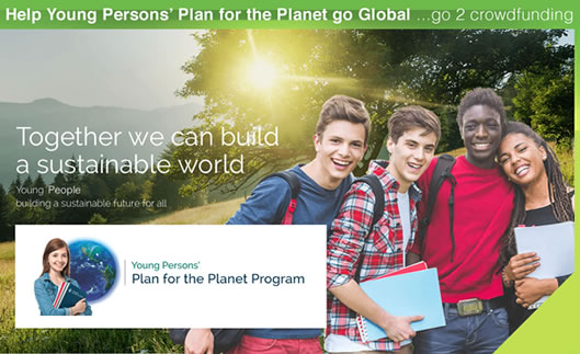 Current major project Young Australians' Plan for the Planet