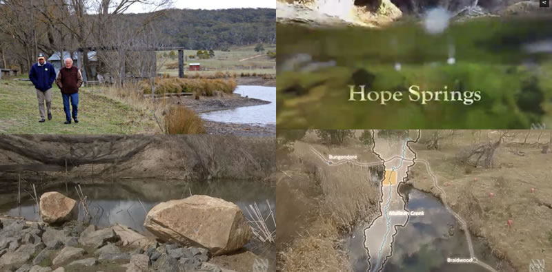 #HopeSprings ABC iView Australian Story article